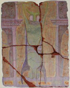 Civilization of Llhuros | Artifact #111 | FACSIMILE OF WALL PAINTING