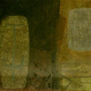 Civilization of Llhuros | Artifact #45 | FACSIMILE OF CAVE PAINTING