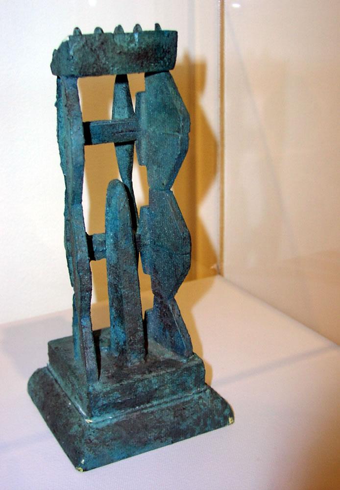 Civilization of Llhuros | Artifact #79 | Miniature Version of a Prie-Dieu