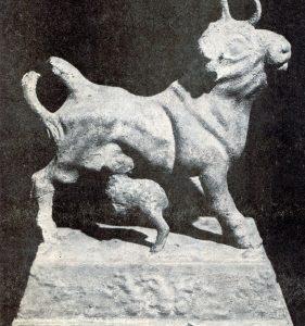 Civilization of Llhuros | Catalog #119 | Duocorn and Calf