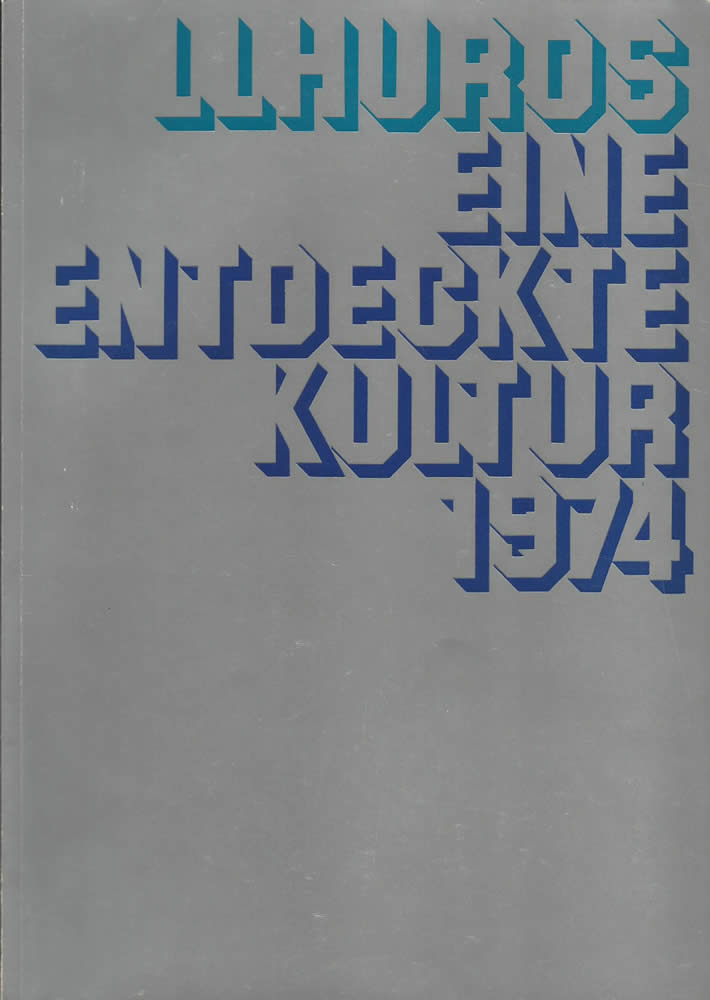 Catalog Cover from the Cologne Show in 1974