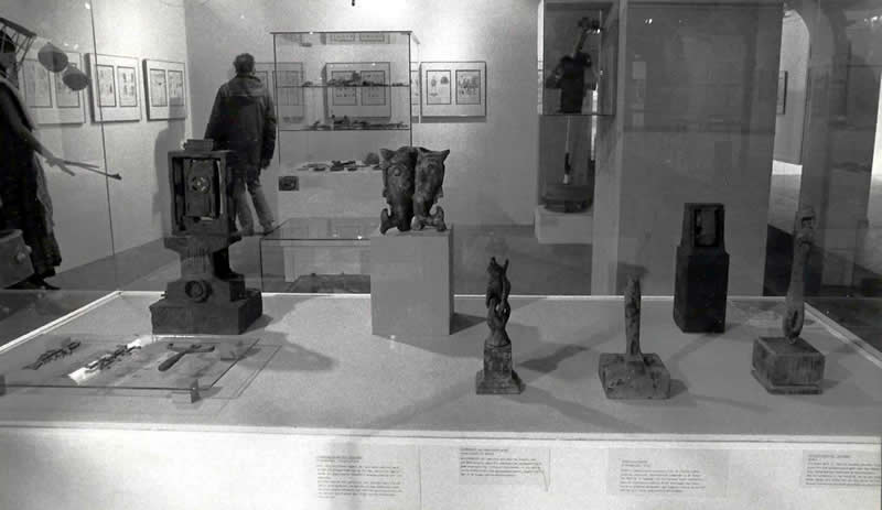 Exhibit of Selected Llhuroscian Objects- Museum Boijmans Van Beuningen - Rotterdam 1983
